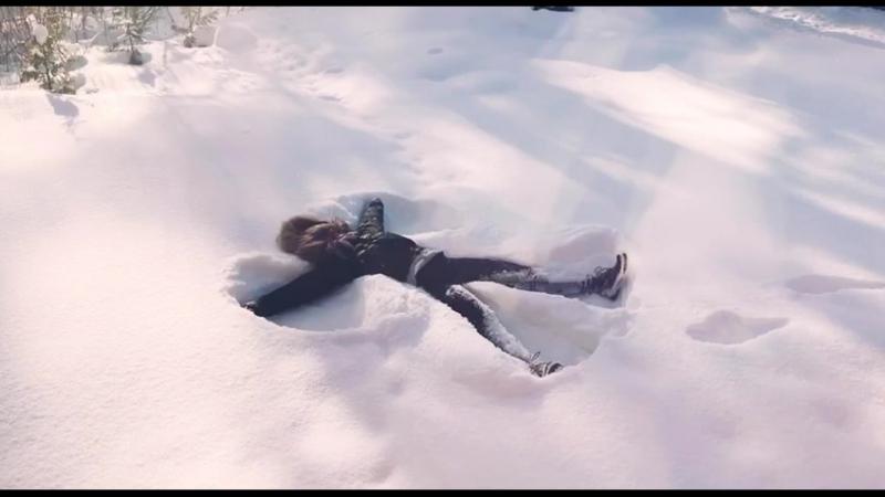 Снежный ангел от Насти Манзюк