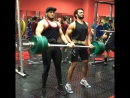 Bicep Curl with 125 kg