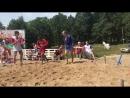 Турнир по самбо на песке.Схватка за 3 место в весовой категории до 68 кг.Малаховка.2017 борьба самбо