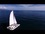 Море. Яхта. Несколько кадров для фильма.
