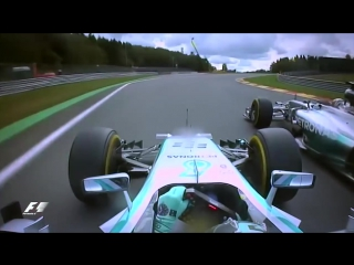 2016 Friends TV show intro theme song Mercedes F1 Hamilton and Rosberg