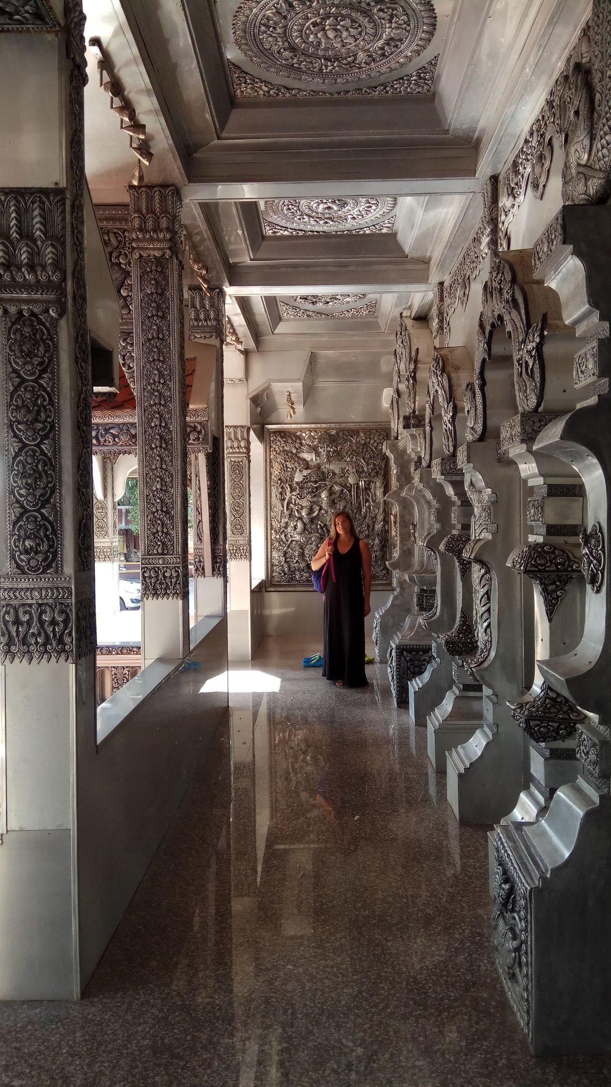 Чианг Май серебряный храм
