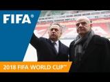 Виталий Мутко и Джанни Инфантино: о #ЖеребьевкаЧМ, Чемпионате мира FIFA 2018 и многом другом. 1 декабря 12:00