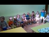 Фрагмент занятия 'РАЗВИТИЕ РЕЧИ'. Все малыши очень старались! Умнички!