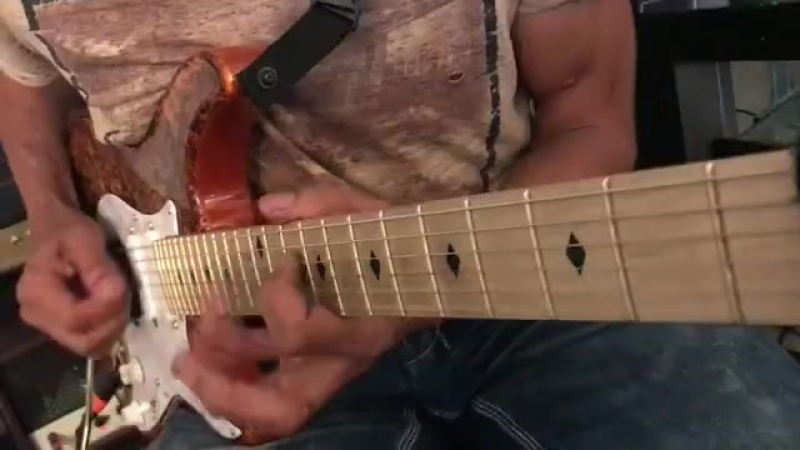 Greg Howe - Throwing down some raucous notes over the Throw Down backing track from my new album Wheelhouse