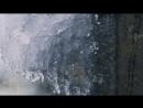 Winter Video Probiy Waterfall the Carpathian Mountains 2 HRS