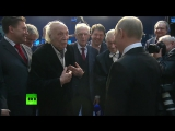 Путин поздравил с 93-летием диктора Виктора Балашова