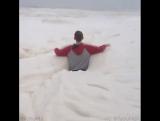 Море из пены