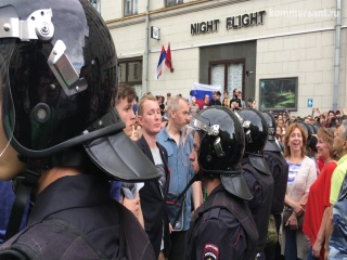 Митинг обошелся без топоров и мечей