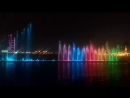 цветные фонтаны)Шарджа, ОАЭ