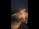 Хлопья снега в Краснодаре