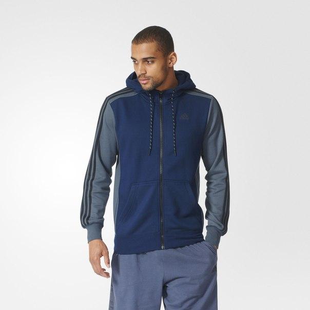 Флисовая толстовка Sport Essentials 3-Stripes