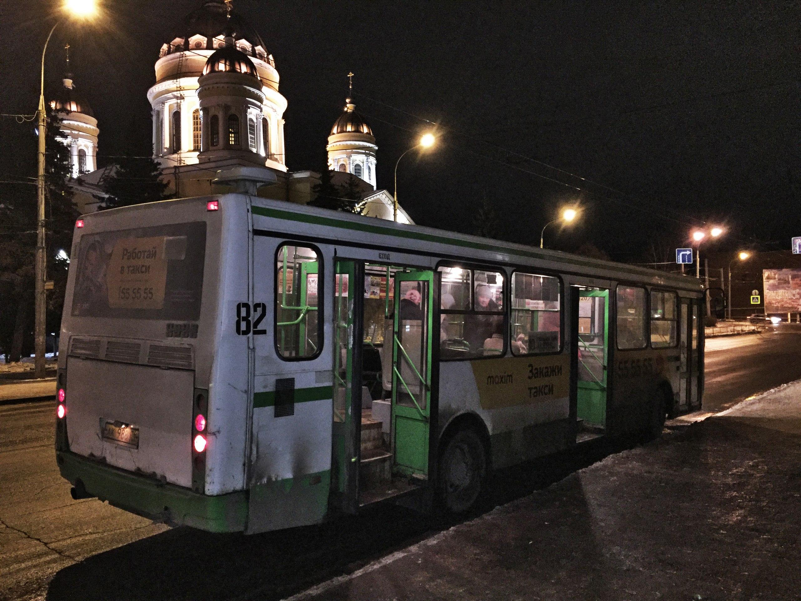 Автобус №10. Остановка: Соборная площадь