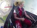 Светлана Капанина, 7кратная абсолютная чемпионка мира по высшему пилотажу/Svetlana Kapanina, 7time absolute world champion in aerobatics.