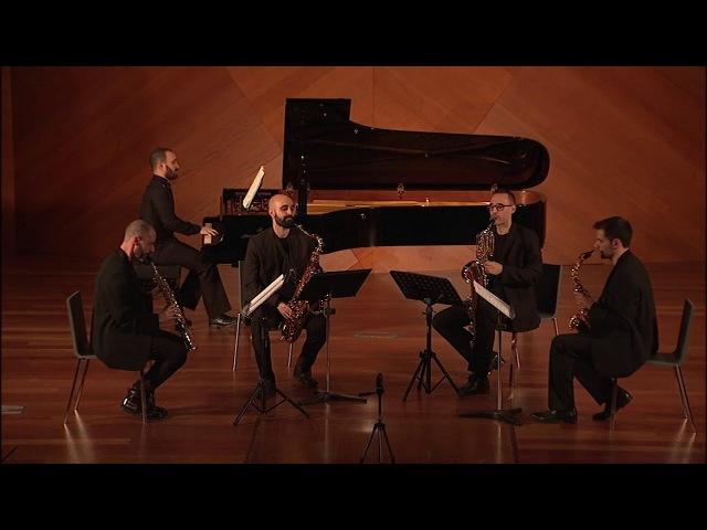 Octavia Saxophone Quartet - Pedro Iturralde: Memorias