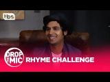 Drop the Mic Mayim Bialik, Kunal Nayyar, &amp Nick Lachey - RHYME CHALLENGE TBS