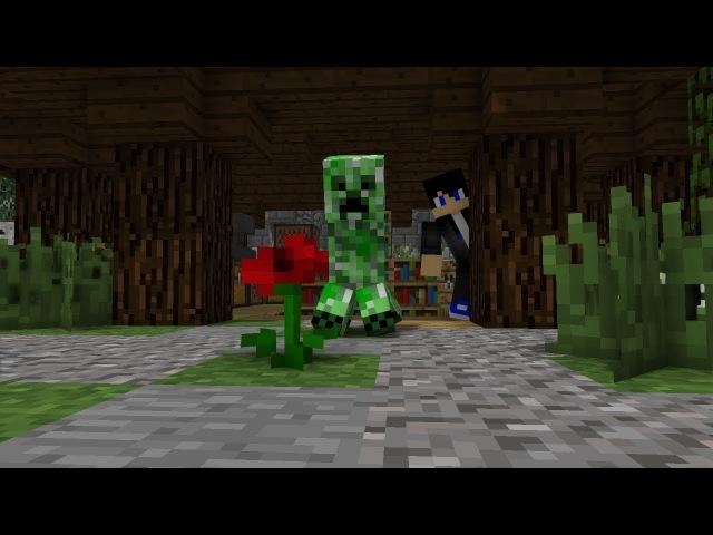 НЯША КРИПЕР - minecraft Клип | Minecraft animation
