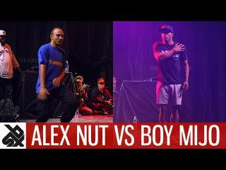 ALEX NUT vs BOY MIJO feat DHARNI & REEPS ONE | Dance Battle To The Beatbox 2017 | FINAL | WBC X FPDC