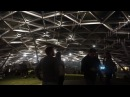 Парк Зарядье Zaryadye park at night