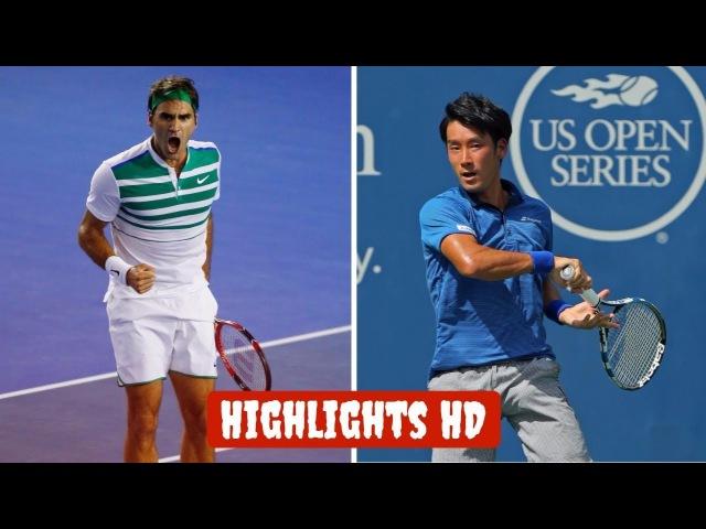 Roger Federer vs Yuichi Sugita Full Highlights HD | Hopman Cup 2018