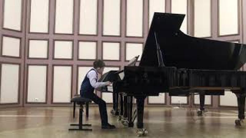 J.S. Bach, 3-voice Fugue c-dur, BWV 953, F.Chopin, Prelude No.4 e-moll op.28