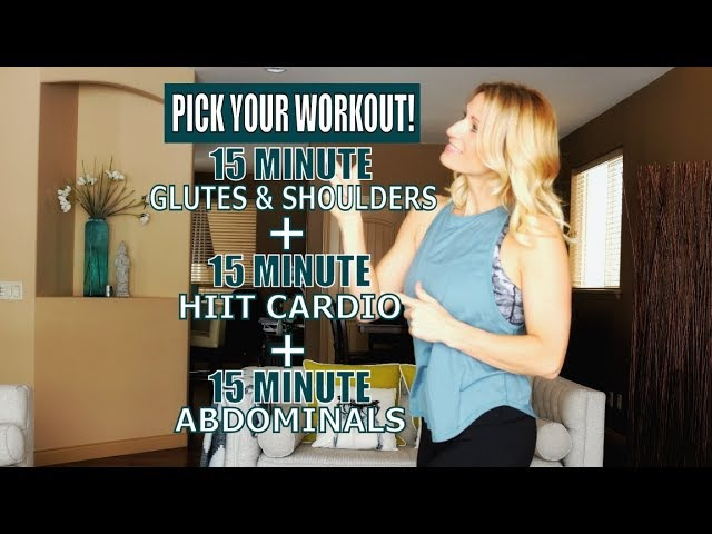45 Minute Full Body-Toning Workout | At Home Strength, Cardio and Abs