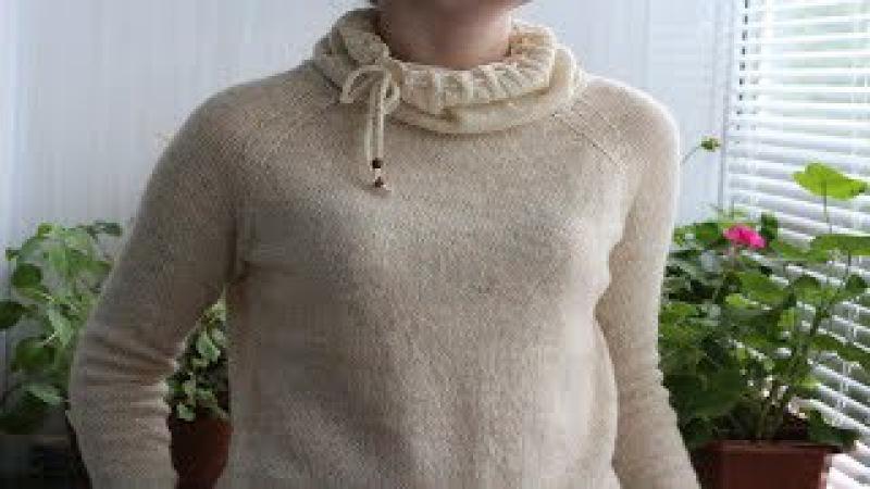 Как связать простой свитерВяжем свитер с регланом