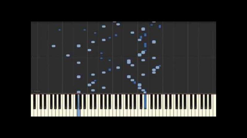 Gareev Artem - Etude №1 (g-moll) (Synthesia)