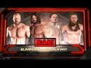 SBW Raw - AJ Styles vs Jack Gallagher vs Triple H vs Daniel Brayan
