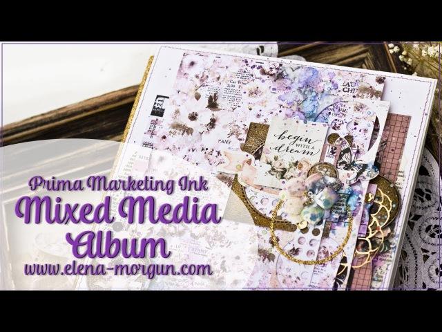 Scrapbooking | Mixed Media Album by Elena Morgun