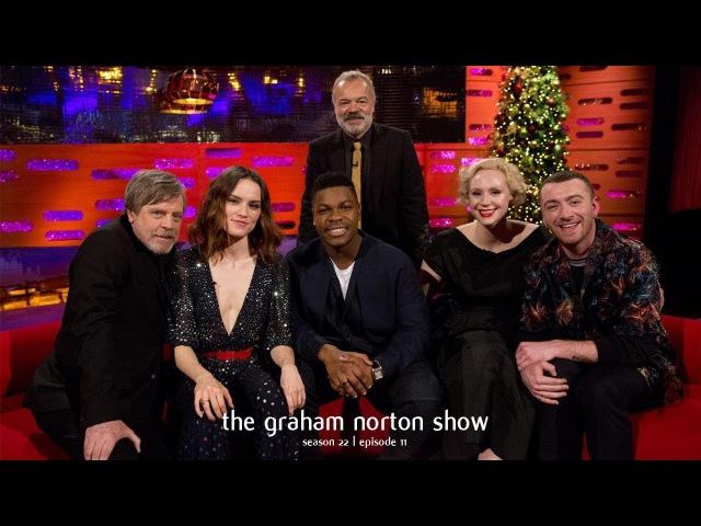 Graham Norton Show S22E11 - Mark Hamill, Daisy Ridley, John Boyega, Gwendoline Christie