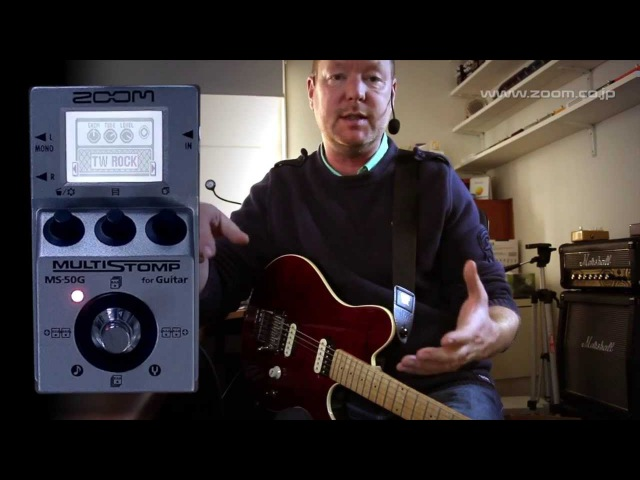 Zoom MS-50G Multistomp : (Part 1) General overview as direct device
