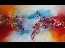 Abstrakte Acrylmalerei Maralis - Abstract Acrylic Painting Maralis - StiiN Art