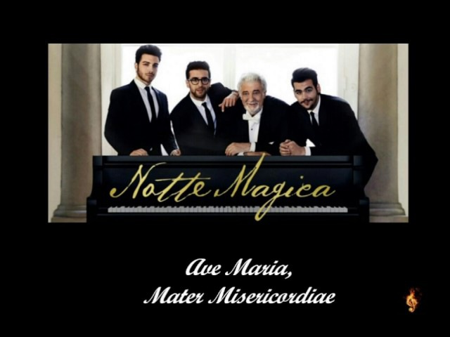 Il Volo - Ave Maria, Mater Misericordiae (Lyrics/Testo)