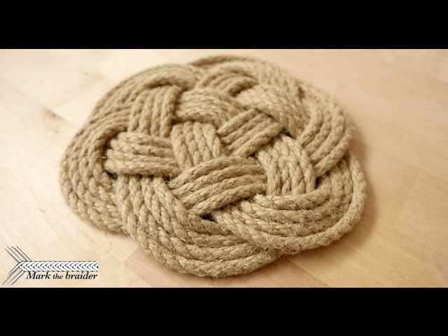 Thump mat- rope hot pad