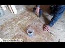 Выравнивание полов плитами ОСП Как выровнять деревянный пол под ламинат своим
