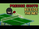 Fantastic precise shots and accurate placements beside the net Фантастические удары мимо сетки 1