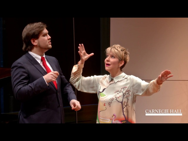 "Joyce DiDonato Master Class January 2016: Rossini's ""La calunnia"" from Il barbiere di Siviglia"
