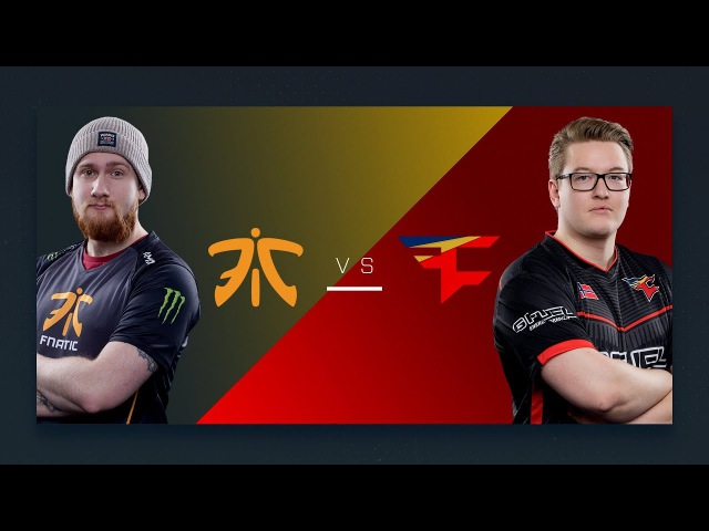 CS:GO - Fnatic vs. FaZe [Inferno] - Group A Round 1 - ESL Pro League Season 6 Finals