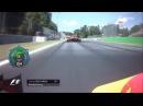 Ricciardo divebombs Kimi - 2017 Italian GP