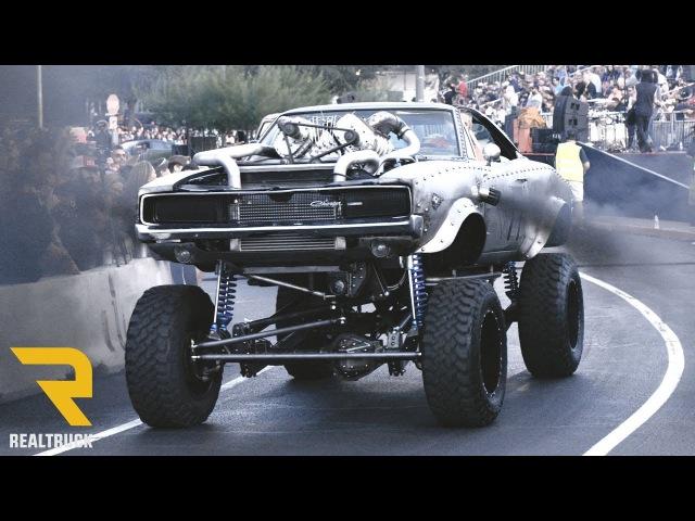 Leaving SEMA 2017 Show - 95 Minutes of Custom Cars!