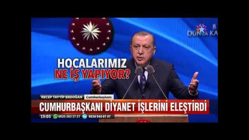 Cumhurbaşkanı Erdoğan Din adamı diye ortaya çıkıyorlar