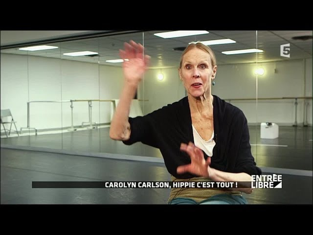 La danseuse Carolyn Carlson au théâtre National de Chailllot - Entrée libre
