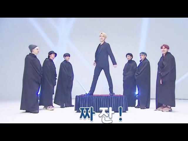 BTS Fashion Show JIMIN JUNGKOOK cut