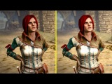 The Witcher 2 Xbox One X Enhanced Graphics vs Performance Mode Comprison
