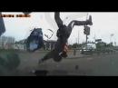 Очень жестокие и страшные мото аварии и ДТП. Moto crash compilation