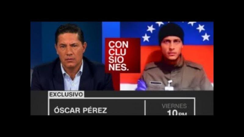 CNN Ultima Entrevista a Oscar Perez y POSIBLE INFLUENCIA de la misma en su LOCALIZACIÓN.-