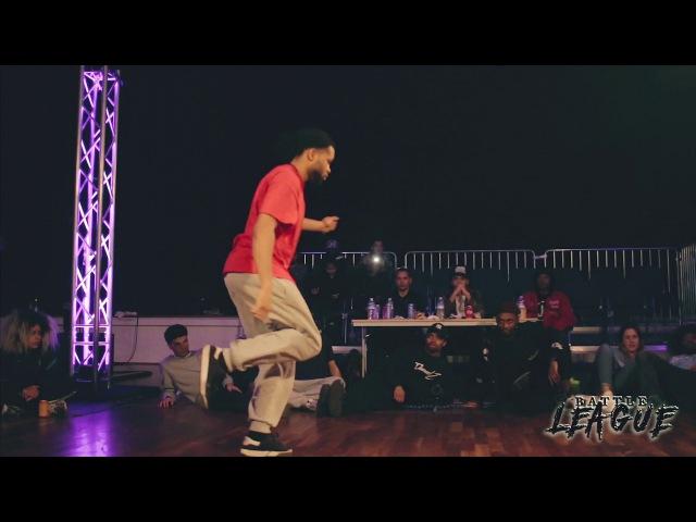 Battle League 2017 - Hiphop Final Miracle vs Frannky Dee