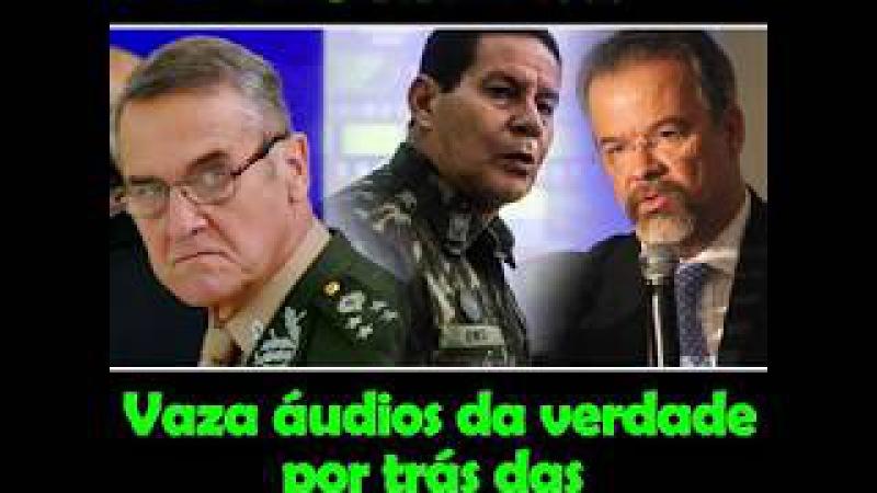 Vaza áudio da verdade por trás das forças armadas