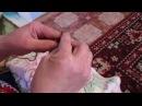 Интересный способ вязания лицевых и изнаночных петель